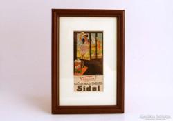 """""""Sidol"""" reklámos falikép a '30-as évekből"""