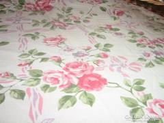 Csodálatos vintage rózsás nyári sötétítő függöny párban