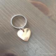 Maria Cristina ezüst gyűrű brillköves