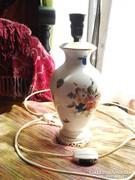 Herendi porcelán lámpa gyümülcs mintás