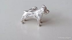 Ezüst kis kutya medál