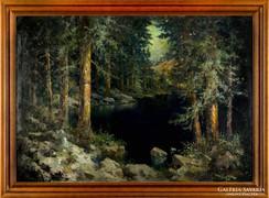 Mészáros Jenő eredeti festménye garanciával