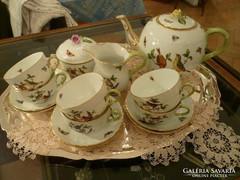 Rothschild mintás teás készlet
