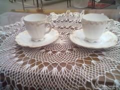 Szépséges szecesszios kávés csészék