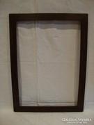 Tömör fa képkeret falc 45,5x32,5 cm