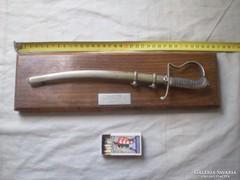 Régi, mini Kossuth kard 1956 -os adományozás