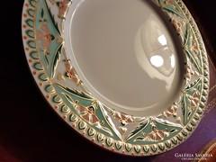 Gyönyörű Zsolnay perzsa mintás tányér