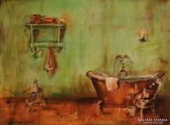 Enteriőr Kortárs festmény