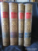 OSZTRÁK MAGYAR MONARCHIA KUK RUDOLF FŐHERCEG 1887 4 kötetes