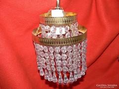 Kristály falikar fali lámpa