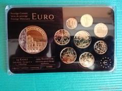 EURO 24 karátos arannyal bevont