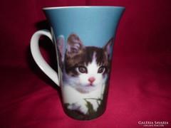 Porcelán kakaós csésze