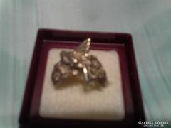 """Különleges ezüst"""" tündéres""""gyűrű"""