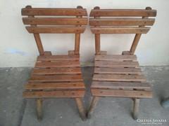 Régi kisméretű szék