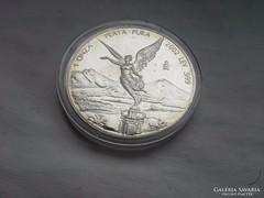 Mexico libertad 2002 31,1 gramm 0,999 kapszulás ,keresett