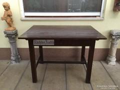 Antik bútor, Fenyő asztal 02.