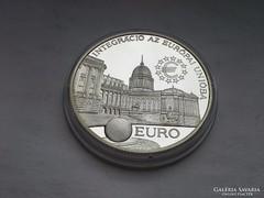 Integráció 2000 Ft PP 31,46 gramm 0,925 szép db!