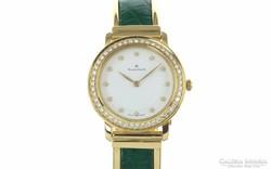 Arany NÖI óra 18k sárga arany gyémánt Blancpain 29mm.