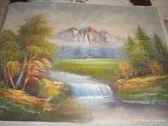 Gyönyörű festmény tájkép