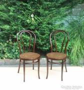 Meseszép Jelzett Thonet székek Párban.
