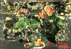Vinkler László : Virág cserépben 1965