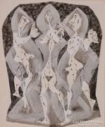 Bán Béla: Három figura, 1970