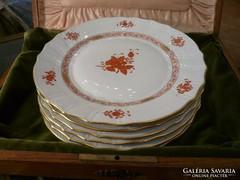 AOG Apponyi Orange lapos tányér 6 db