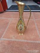 Sárgaréz váza, kiöntő, karaffa 4.