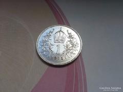 1915 ezüst 1 korona gyönyörű db!!!