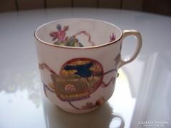 Gyémántjeles, XIX. századi angol csésze, hibátlan