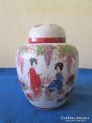 Japán satsuma fedeles váza