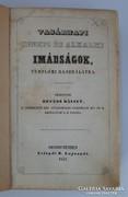 Révész Bálint: Vasárnapi innepi és alkalmi imádságok, 1847