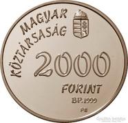 Sydney olimpia - PROOF 2000 forint ezüstérme