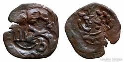 1641. Spanyol kalópénz, 8 Maravedis.