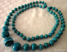 Régi muranoi üveg nyaklánc