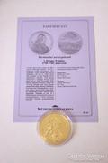 Történelmi aranypénzek sorozat - I. Ferenc 8 dukát
