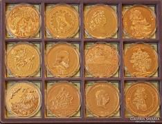 Magyar aranyóriások - 24 darabos gyűjtemény