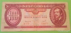 100 forint 1949 Minta perforációval/2