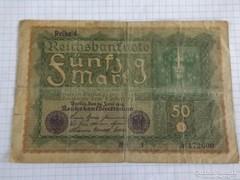 Szép 50 Márka Németország, 1919 !! ( 2 )