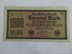 Szép 1000 Márka Németország, 1923 !! ( 2 )