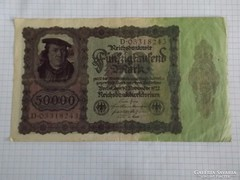 Szép 50000 Márka Németország, 1922 !! ( 2 )
