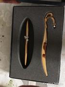 Gyönyörű, nagyon elegáns Mikimoto toll és papírvágó