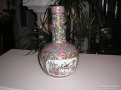 Japán jelzett 40cm porcelán váza