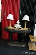 Art Deco lerakóasztal, szalonasztal