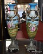 Empire vázák párban - Bécs cca 1910-es évek