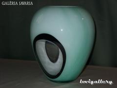 Murano Dekoratív Öblös váza .