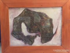 Különleges festmény kortárs festőművésztől MIRA:Habitue