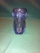 Kékes-lilás üveg váza