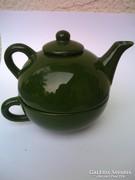 Egyedi különleges mázas teás csésze és kanna