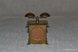 Mini réz csörgő óra